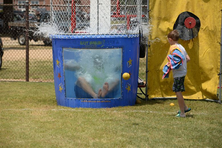Water Dunking Tank fundraising ideas